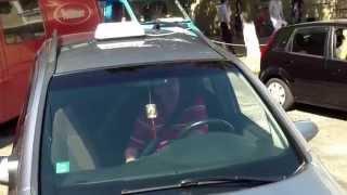 Poliția parcă face ordine lîngă MAI, pe Armenească