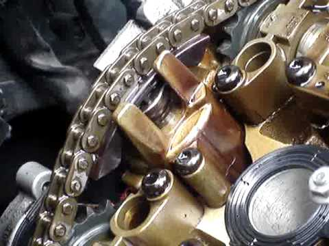 Cam Chain Tensioner Normal Or Knackered Youtube