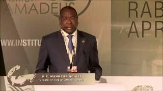 GGC 2014 : Discours de Mankeur Ndiaye