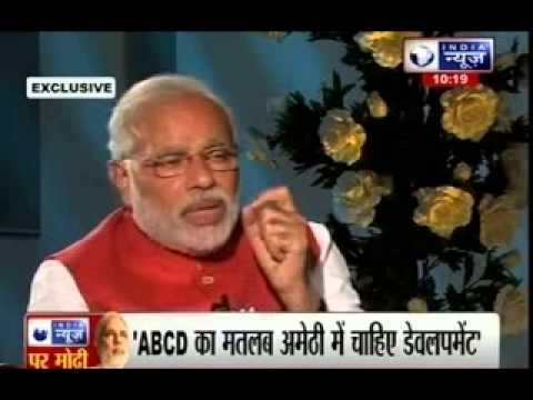 India News exclusive interview with Narendra Modi