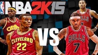 NBA 2K15, Bulls Vs Cavaliers, Andrew Wiggins To The