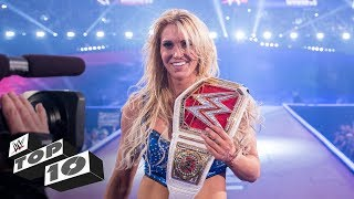 Greatest title victories by WWE's female Superstars: WWE Top 10, Oct. 27, 2018