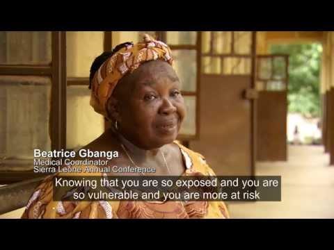 United Methodist Health Workers Treat Ebola