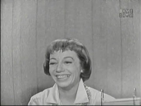 What's My Line? - Imogene Coca; Tom Poston [panel] (Oct 26, 1958)