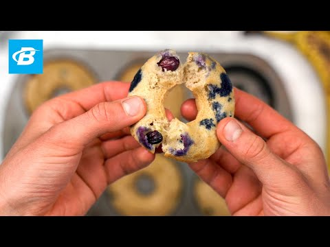 Blueberry Banana Protein Donuts | Isopure Protein