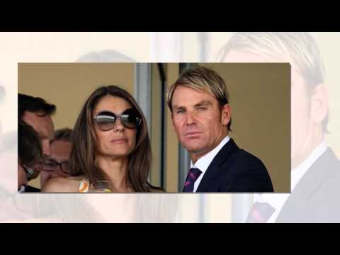 Shane Warne and  Elizabeth Hurley-are in relation or not...????