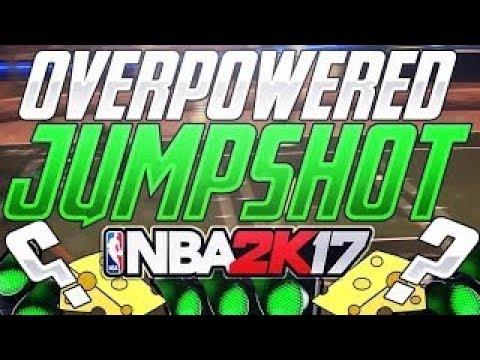 BEST FASTEST CUSTOM JUMPSHOT IN NBA2K17