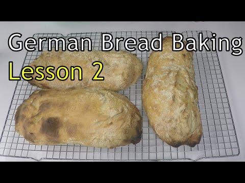 Bread Baking Class - Lesson 2