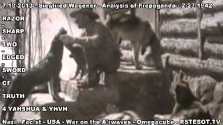 Analysis of Propaganda   2 23 1942   Siegfried Wagener