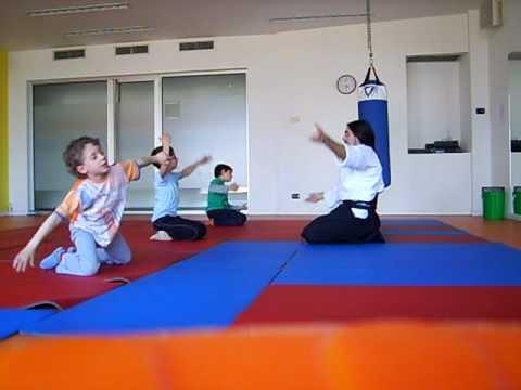 Lezione AIkido per Bambini - Palestra Body Up Fitness (Bolzano Vicentino - Vicenza)
