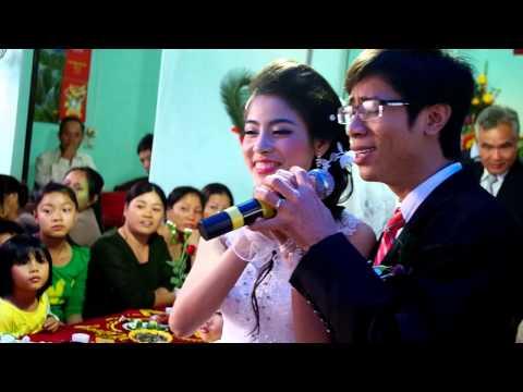 Cô dâu chú rể hát