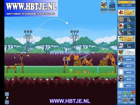 Angry Birds Friends Tournament Level 2 Week 75 (tournament 2) no power-ups