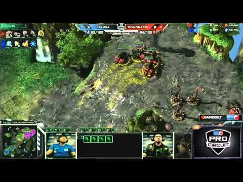 (HD491) Alicia vs DRG - Game 4 - Starcraft 2 Replay [FR]