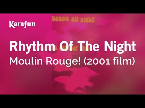 Karaoke Rhythm Of The Night - Moulin Rouge! *