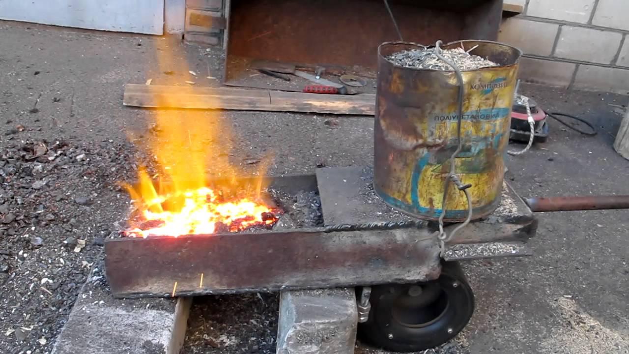 Горелка для сжигания опилок своими руками 2262
