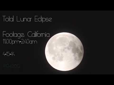 Gerhana Bulan [ Blood Moon] 15 April 2014