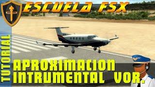 FSX - Aproximacion VOR