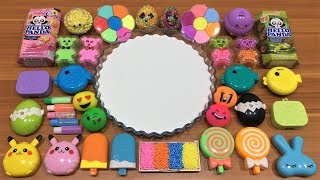 Mixing Clay and Floam into Slime | Satisfying Slime Video | Mickey Slime