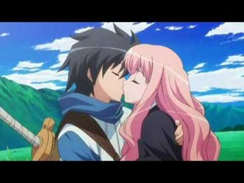 Zero no Tsukaima -Op 1- First Kiss