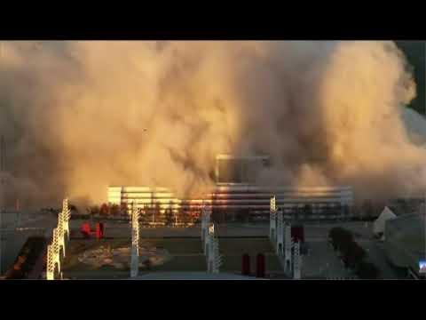 """别了""""大巨蛋""""!亚特兰大奥运场馆被爆破拆除了!"""