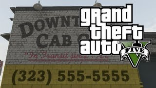 GTA V How To Get FREE Taxi Service FOR LIFE In Grand