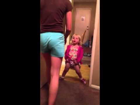Peeing Toddler not