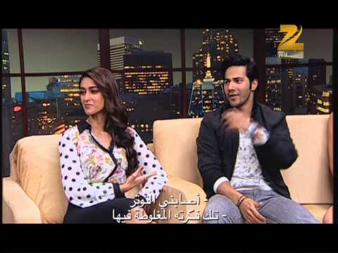 Varun Dhawan, Ileana D'Cruz & Nargis Fakhri in Conversation with Komal Nahta - Part 1