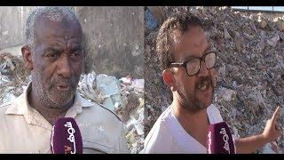 بعد فيديو الحاج يونس..حي راقي في قلب الدارالبيضاء يعيش وسط الأزبال بسبب الشركات و مجلس المدينة آوت |