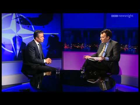 NEWSNIGHT: Anders Fogh Rasmussen on Afghanistan, Karzai and NATO