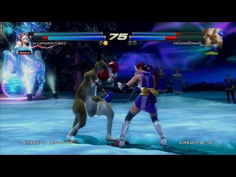 Tekken Tag Tournament 2 - Comic-Con 2012 Stage Demo