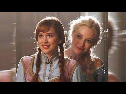 Frozen's Anna - FIRST LOOK on