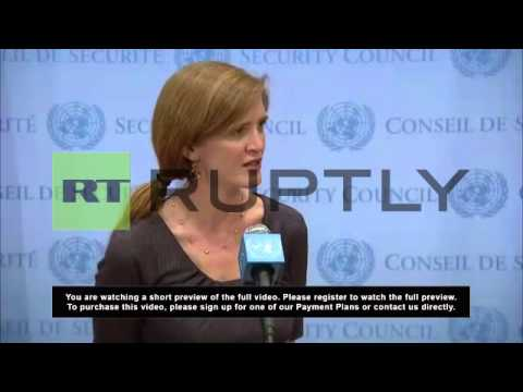 USA: UN envoy Power says Crimean independence illegal