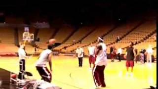 Lebron James Hits 5 Full-court Shots In A Row