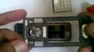 Troca Do Flex Sony Ericson W580