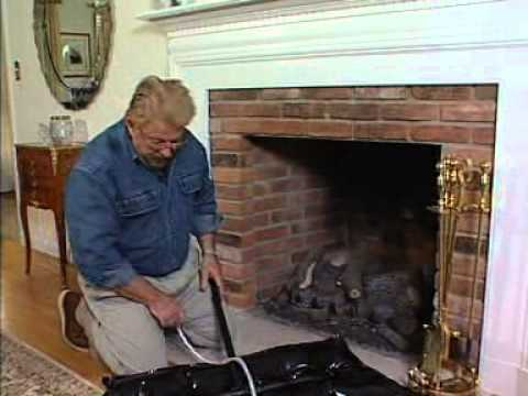 Battic Door Fireplace Plug Chimney Balloon Youtube