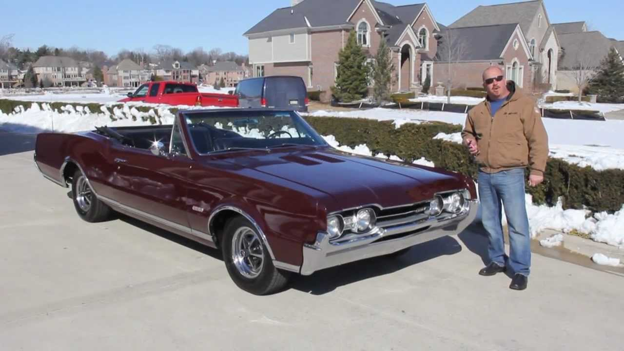 1967 Oldsmobile 442 Convertible Classic Muscle Car For