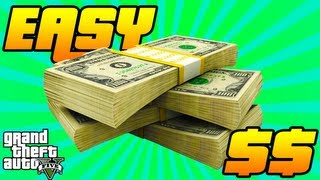 GTA V How To Get Free Money FAST Robbing The Ammu