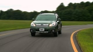 2013 Subaru Outback First Drive From Consumer Reports