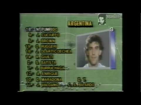 argentina alemania mexico 1986 partido completo mundial mejico 86 final copa del mundo mexico 1986