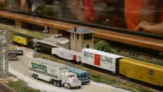 HO Scale Trains At The 2009 Iowa State Fair