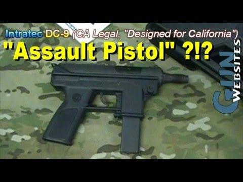9Mm Assault Pistol