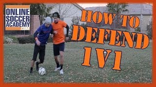 1v1 Defending ~ Learn Basic & Advanced Techniques