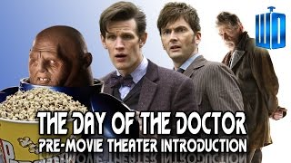 The Day Of The Doctor Hilarious Pre-Movie Theater