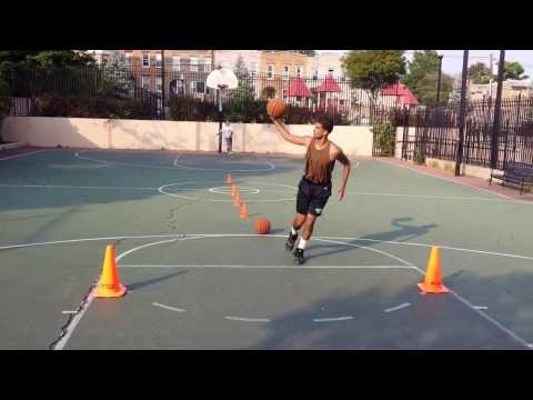 Reach & Teach Global Basketball Athlete: Chris L with Stephen Curry stepback series