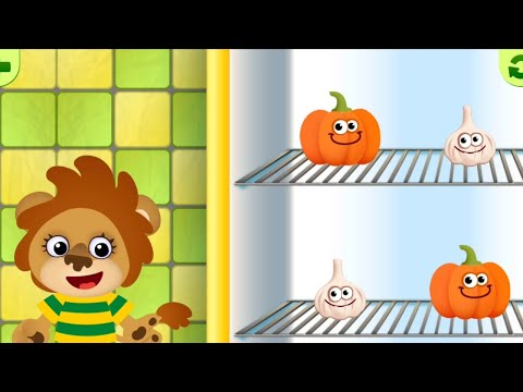 Funny Food - Kindergarten learning games for toddlers | Matching