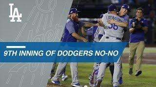 Liberatore completes Dodgers' combined no-no