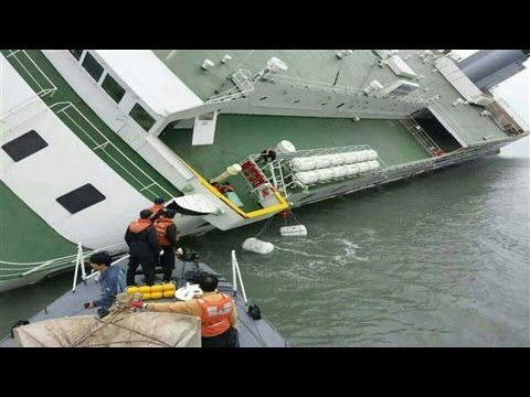 Hundreds Missing After South Korean Ferry Sinks