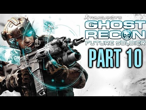 Ghost Recon Future Soldier Walkthrough - Part 10 - Mission 5 Silent Talon