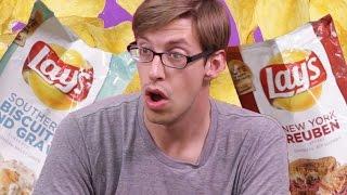 Lay's New Flavors Taste Test