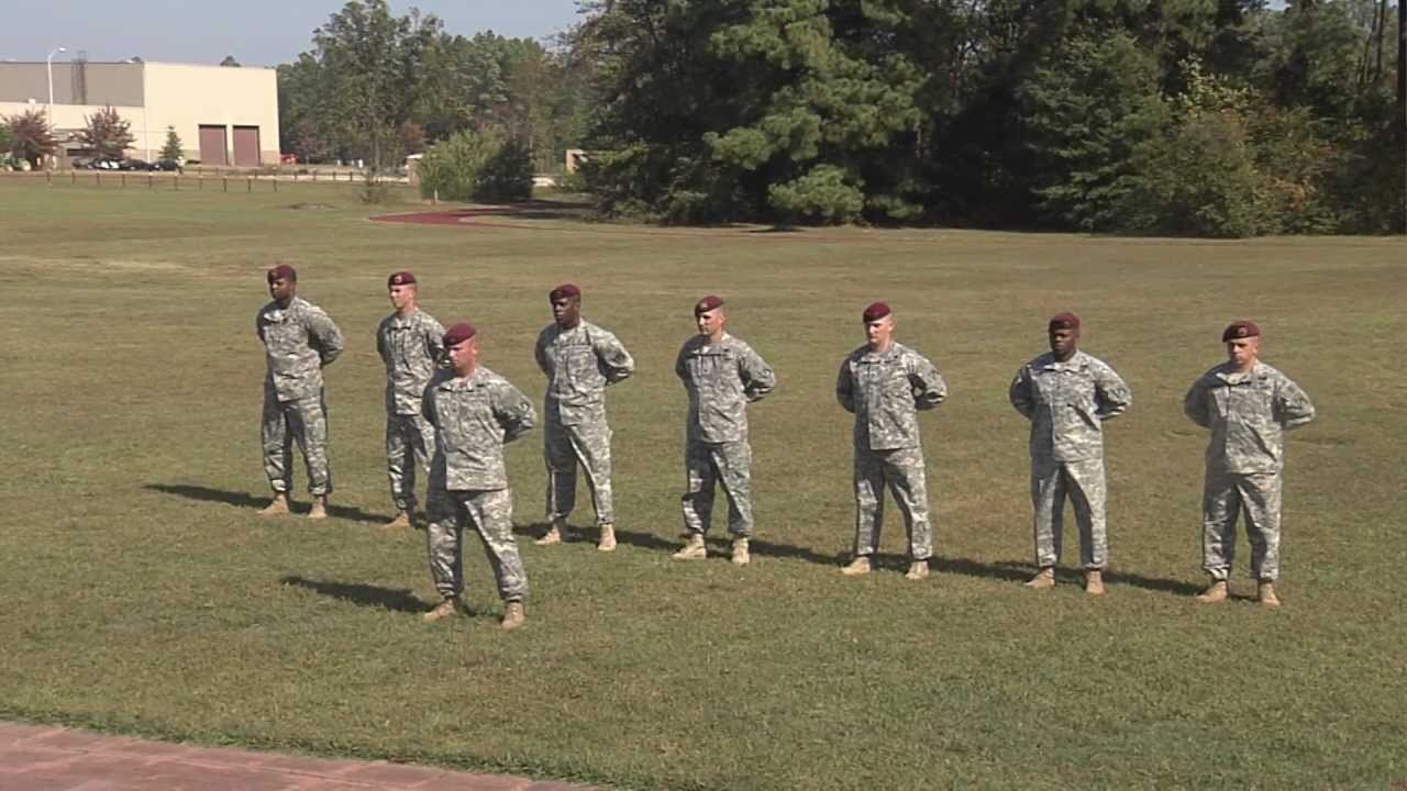Drill and ceremony commands